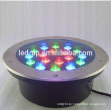 18w RGB conduziu a luz subterrânea com lúmens elevados