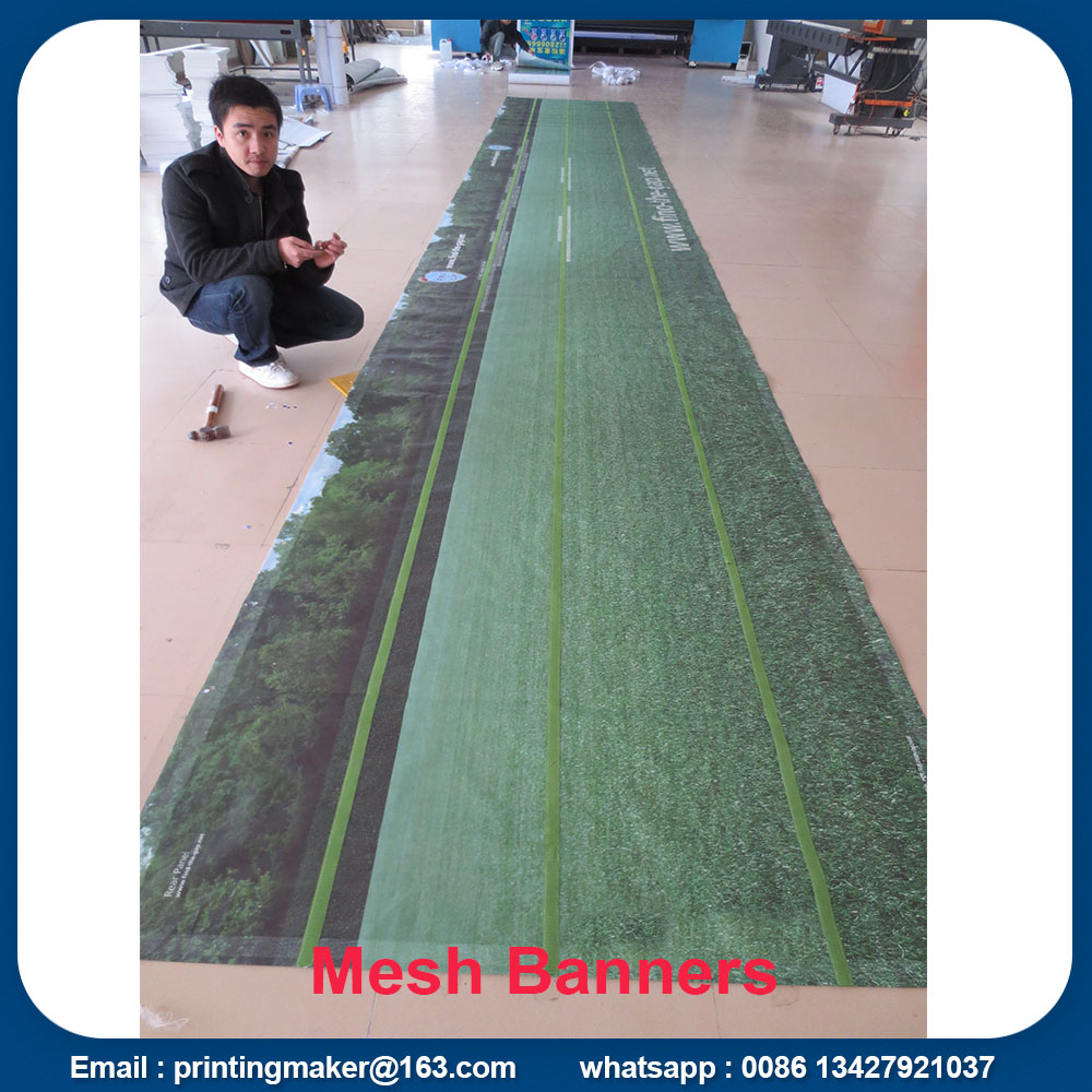 mesh banner with velcro