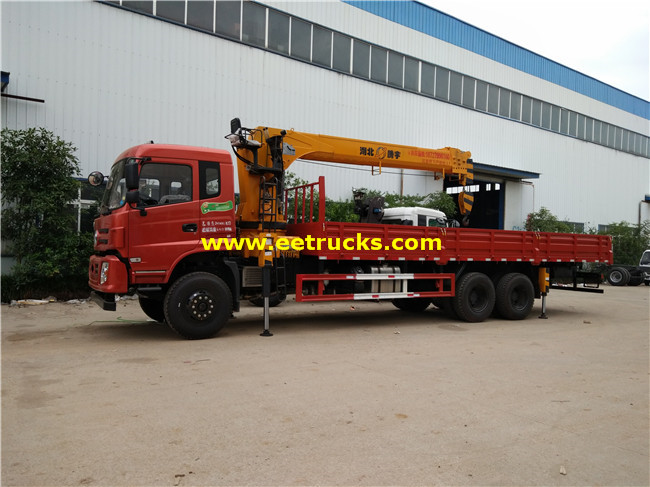 6x4 14ton Truck Mounted Cranes