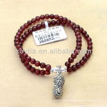Bracelets en grenat ambre en gros en argent sterling