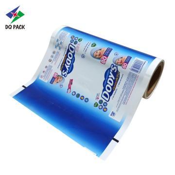 Película de embalaje de productos para bebés Película de impresión personalizada opaca