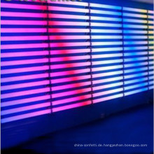 Disco adj führte Pixelrohrwanddekoration