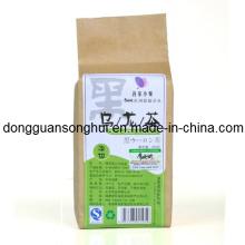 Kraft Paper Tea Packaging Bag / saco de chá saudável / bolsa de chá de plástico