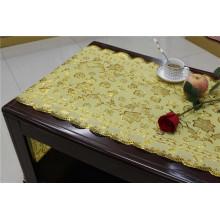 50см*20м ПВХ Золотые кружева Таблица placemat для дома/партии/свадьбы использования