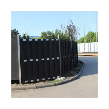 Cheap Chinese Supplier WPC Garden Fence Wood Plastic Composite Fencing