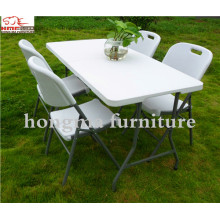 Outdoor Plastic Portable 183*76*74cm Folding Table