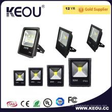 PF> 0,9 Ra> 80 Projector de LED 20W Impermeável 5 Anos de Garantia
