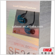 PET / Bopp Hologramm laminiert Papier Verpackung Box mit hoher Anti-Fälschung Feature