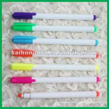 Non-toxic fluorescent pen with clip