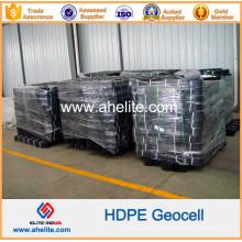 Geocells de plástico HDPE para muro de contención