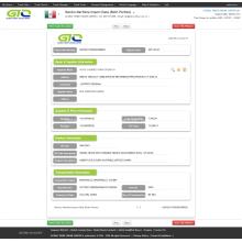 Cadeira de escritório para dados de importação marítima do México