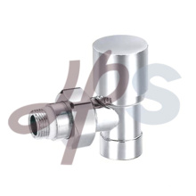 chromed покрынный угол typle латунный клапан отопление