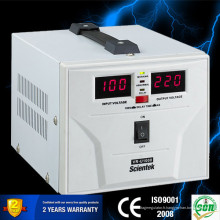 China Hot Sell! Le plus récent LED LED de conception stabilisateur de régulateur AVR 1000VA 600W