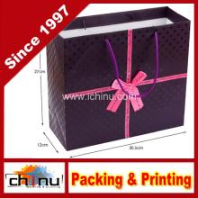 Saco de papel da arte / saco de papel branco / saco de papel do presente (2211)