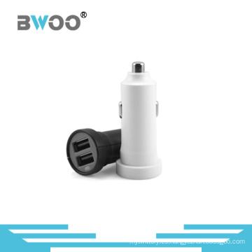 Cargador de coche 2 USB vendedor caliente para teléfono móvil
