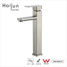 Haijun China Factory Prices Contemporary Single Handle Brass Basin Water Faucet