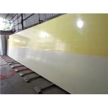 11950 * 2300 * 30mm Painéis de favo de mel de FRP para o recipiente refrigerado