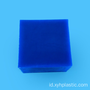 Biru 10mm nilon PA6 diekstrusi lembar