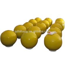 Bouées flottantes marines de mousse de mousse d'EVA enduites par polyuréthane de forme de boule