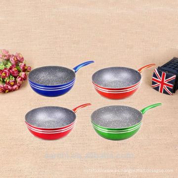 HOT utensilios de cocina cubiertos de mármol