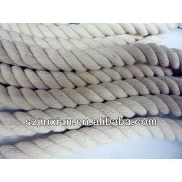 белый мульти цветной хлопок шнур диаметр:15мм