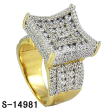 14k золото покрытием моды ювелирных изделий кольцо Серебро 925