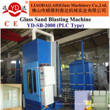 Liaoda pour la machine de soufflage de sable de contrôle automatique de plat de verre