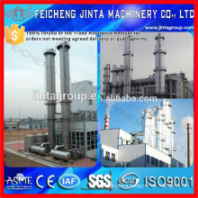 Industrial Alcohol/Ethanol Distillation Equipment Alcohol/Ethanol Distillation Tower