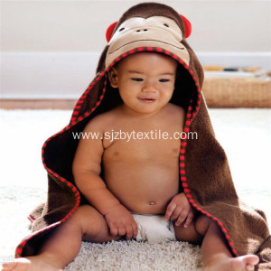 Extra Soft Hooded Bamboo Baby Bath Towel