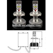 2015 vente chaude! 30W haute puissance AC / DC11-14V 2500LM tête led lumière