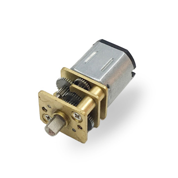 12mm N10 1.5V 3V mini motor de engranaje de CC