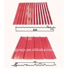 Cnc Farbe Stahl Doppelschicht Roll Formmaschine