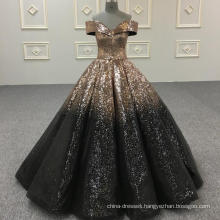 Shining ball gown wedding dress bride dress 2018