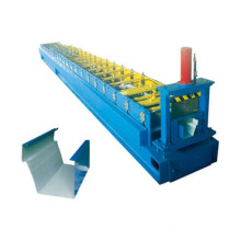 Galvanized Steel Gutter Roll Forming Machine with Production Speed 10-15m/Min