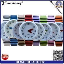 YXL-166 моды кварца холст часы спорта ручка смотреть стороны Vogue наручные часы дамы Зебра ремень платье часы завод