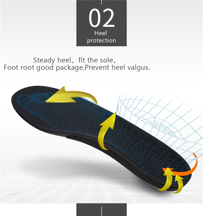 Insole foot wrap design