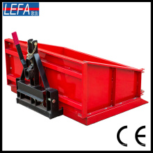 Caja de transporte para tractores usados en maquinaria agrícola