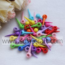 The Colorful Fashionable Plastic Rivet Beads For Decor Cloth