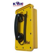 Telefone impermeável da área resistente de aço inoxidável do Auto-Dial