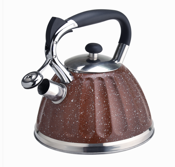 Fashinable Brown Marble Stovetop Kettle 400