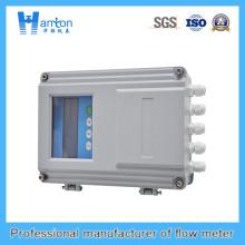 Caudalímetro de ultrasonidos de mano con enchufe de temperatura normal
