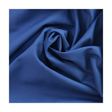 For Casual Light Sportwear High Quality Twill Mechanical Recycle Sustainable Fabric Woven Microfiber Fabric Roll Packaging Navy