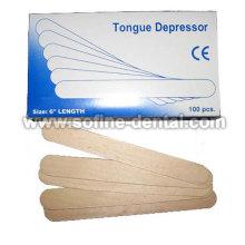 Abaixador de língua de madeira