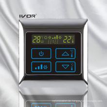 Klimagerät-Thermostat-Berührungsschalter im Metallrahmen (SK-AC2000B)