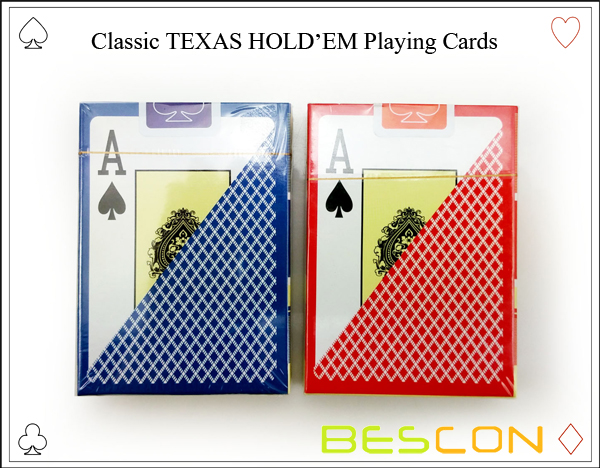 Classic TEXAS HOLDEM Playing Cards-3