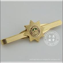 Grampo do laço do ouro com emblema, Stickpin do metal (GZHY-TC-071)