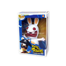 Cheerful Rabbit Open Arms Robot Toys