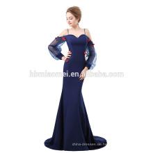 2018 Elegantes Sweetheart Ausschnitt Meerjungfrau Abendkleid mit Ärmeln