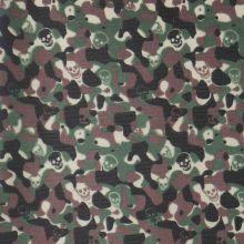 Oxford 600d impressão tecido de poliéster com PVC / PU (XQ-344)