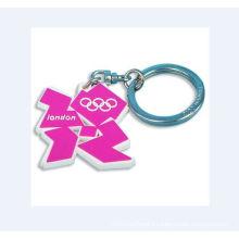 Key Ring with Accessory, Acrylic Keychain (GZHY-KA-079)